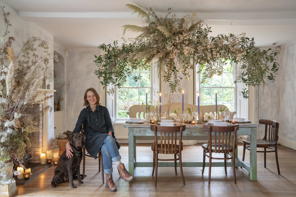 Florals - Moss & Stone Floral Design   Image - Andrew Crowley   Journalist - Clare  Coulson for The Telegraph