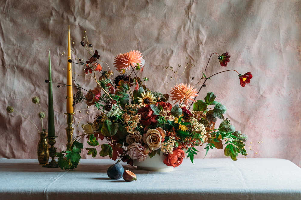 Moss & Stone Floral Design, Twisted Sisters, Matthew Walsh Photography