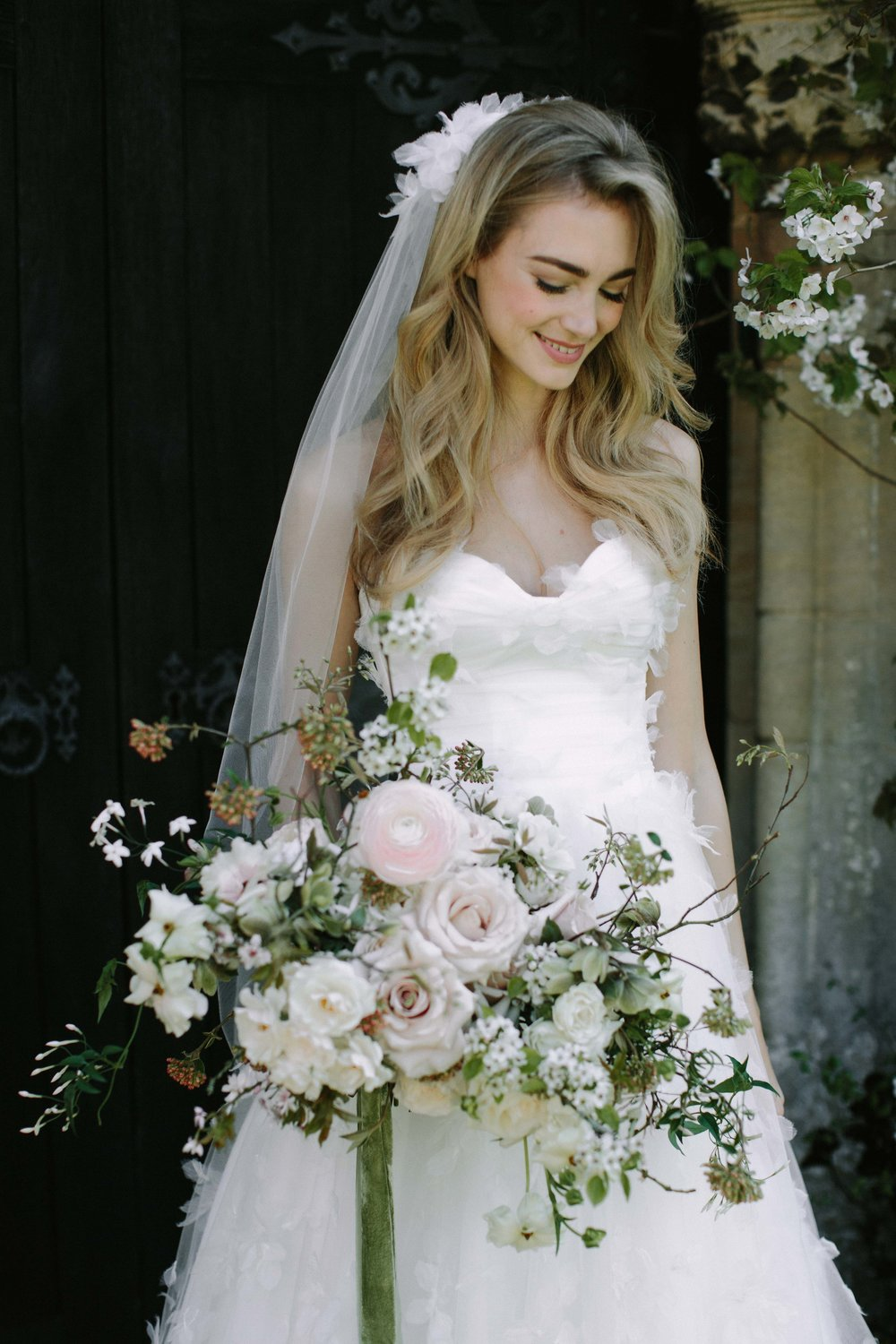 Florals - Moss & Stone Floral Design | Rebecca Goddard Photography Coco  Kat Holywell Hall-140.jpg