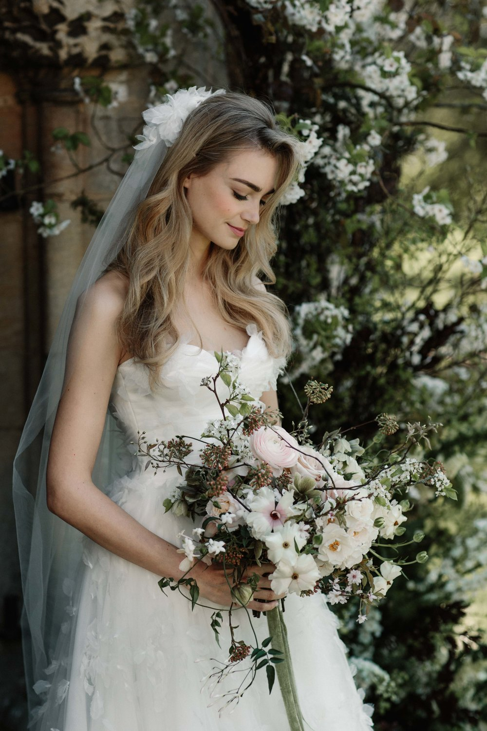 Florals  - Moss & Stone Floral Design | Rebecca Goddard Photography Coco  Kat Holywell Hall-96.jpg