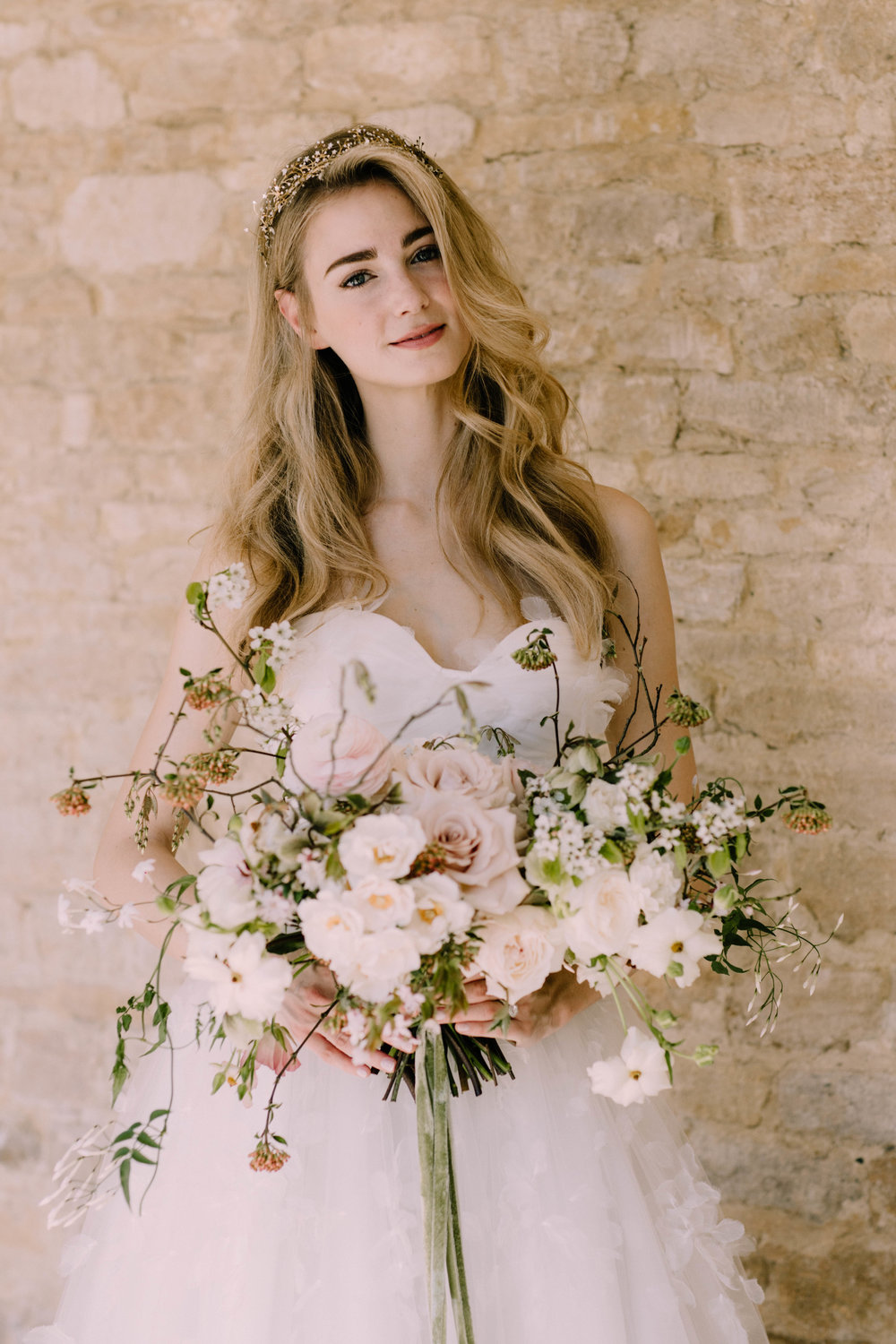 Florals  - Moss & Stone Floral Design | Rebecca Goddard Photography Coco  Kat Holywell Hall-286.jpg