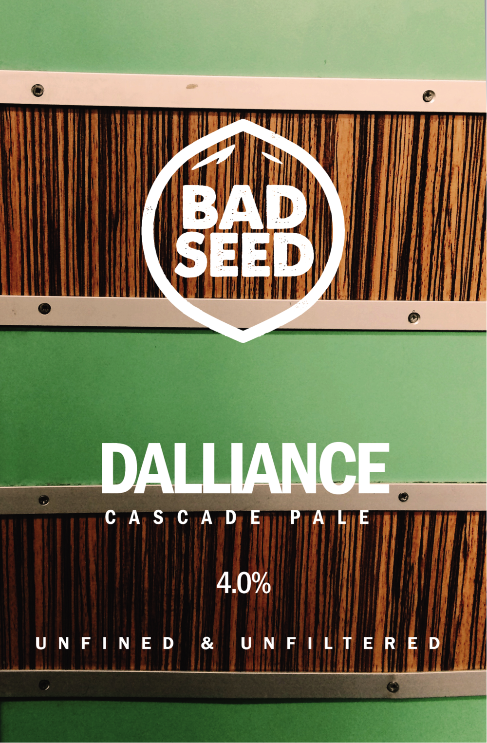 Dalliance.  Cascade hopped pale with fresh flavours of grapefruit, lychee and citrus from the hop that started the craft beer movement.  4.0%  Cask only.