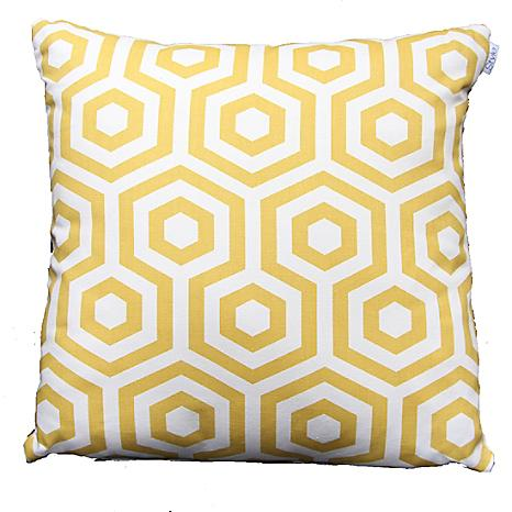 Love, love, love this HEX cushion. Via Look Again for £12.00.  (Click to buy me)