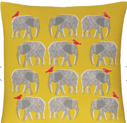 Topsy cushion via Habitat. £15.00