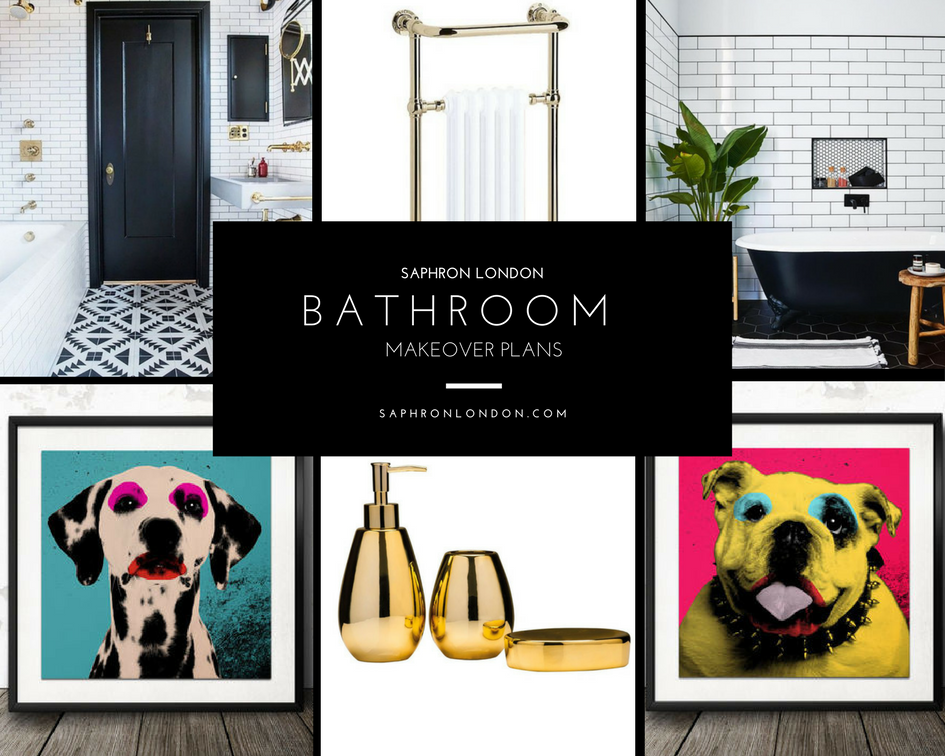 SaphronLondon bathroom moodboard
