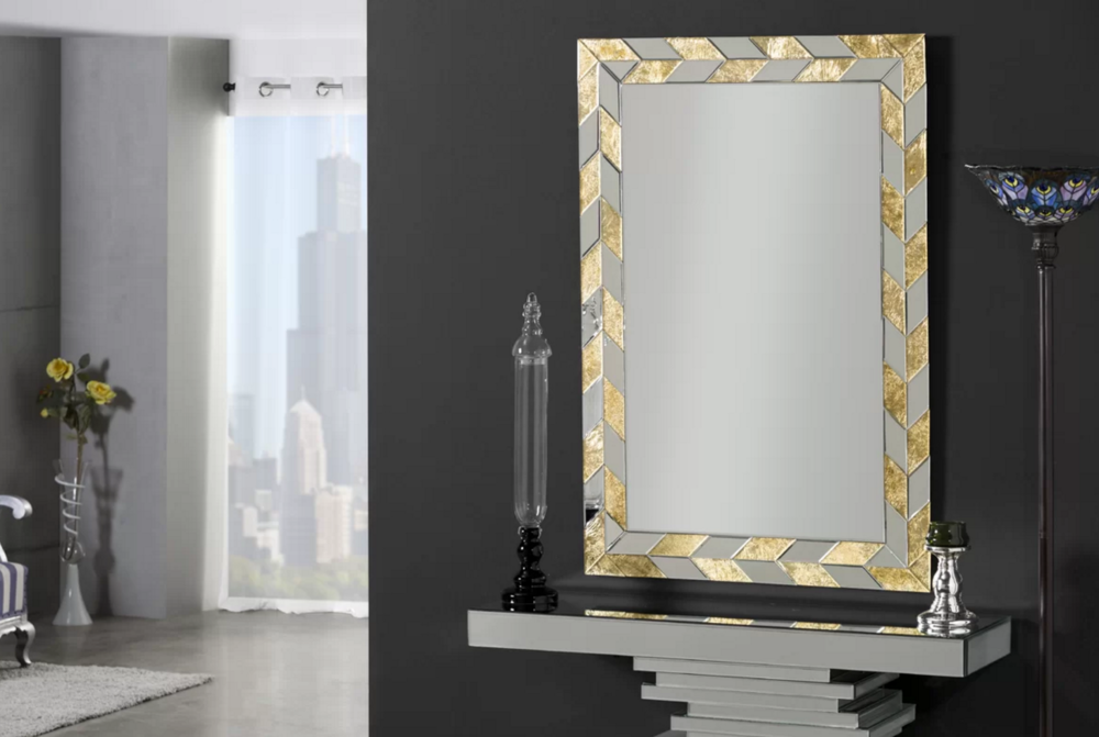 This gorgeous wall mirror designed by Home Loft Concept can be purchased via Wayfair UK for £236.99