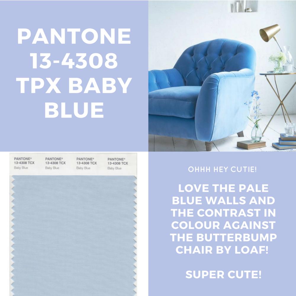 PANTONE BABY BLUE