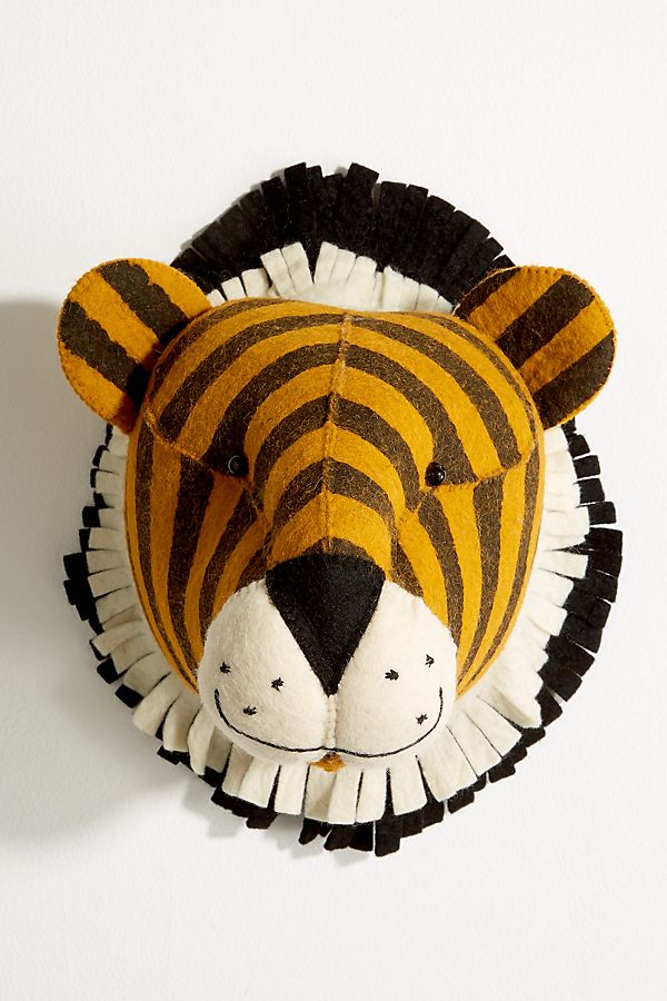 TIGER WALL HEAD DECOR