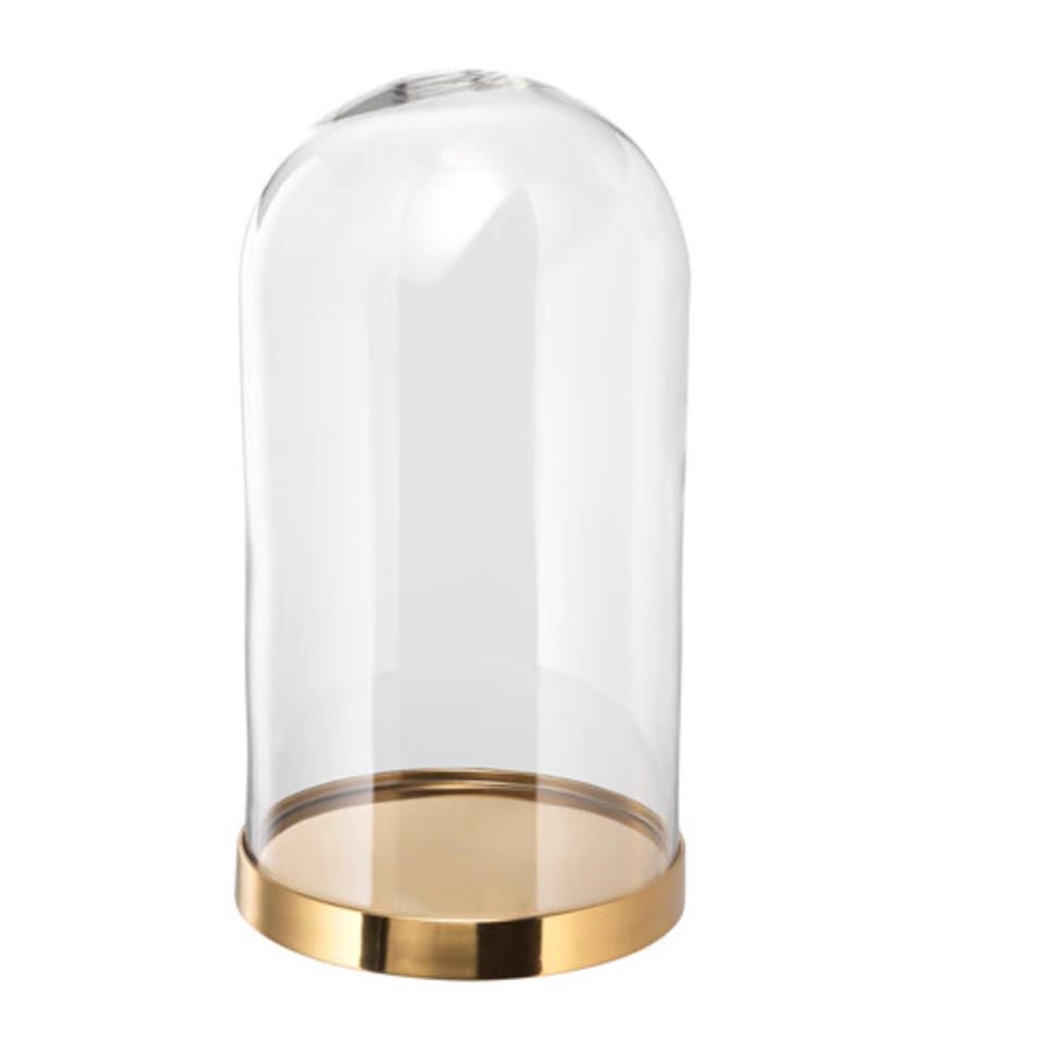 Glass dome with base BEGÅVNING £15