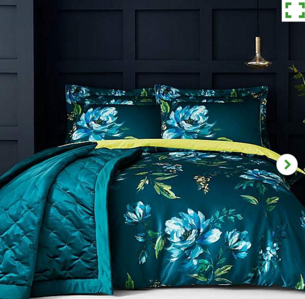 Charm duvet set via Dunelm
