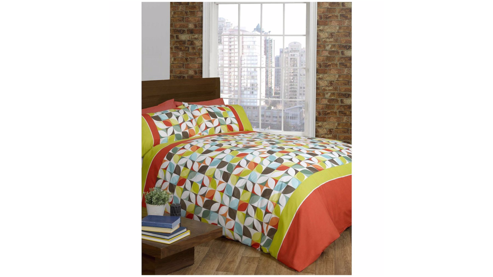 Rapport Signature Coloured Niamh Duvet Cover Set - - Multi