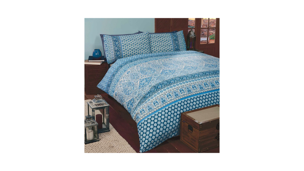 Rapport Marrakesh Blue Duvet Cover Set - Double