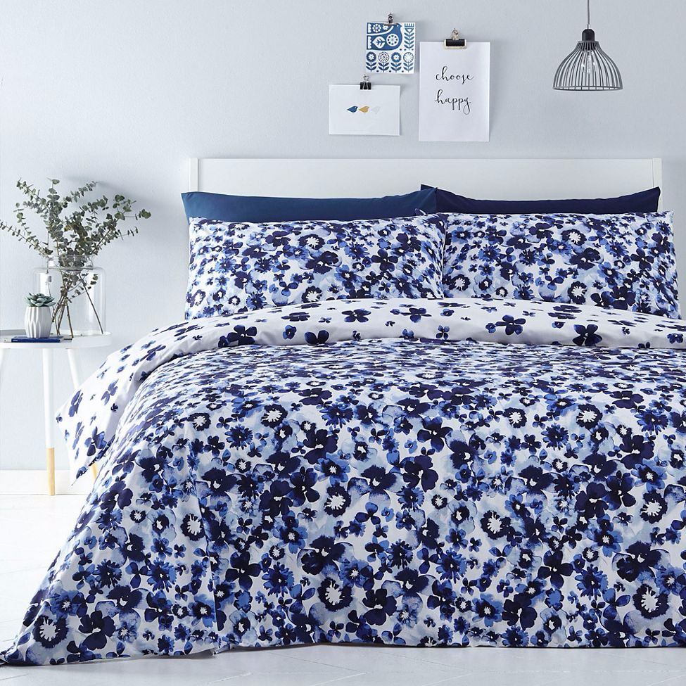 Home Collection - Blue 'Bethan' bedding set