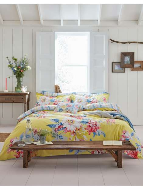HOMEPAGE HOME & FURNITURE BEDROOM DUVET COVERS Whitstable Floral Duvet Cover Joules JOULES Whitstable Floral Duvet Cover