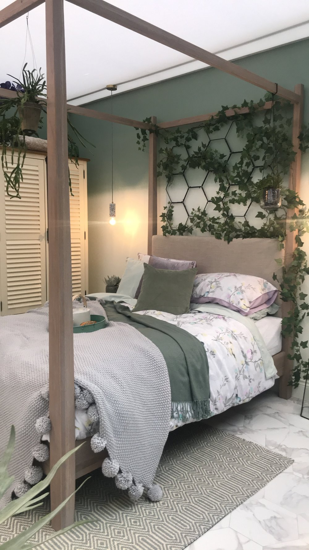 Good Homes Magazine room sets at the Ideal Home Show