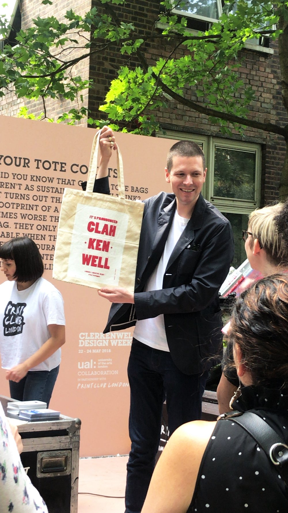 Print Club London: Your Tote Counts