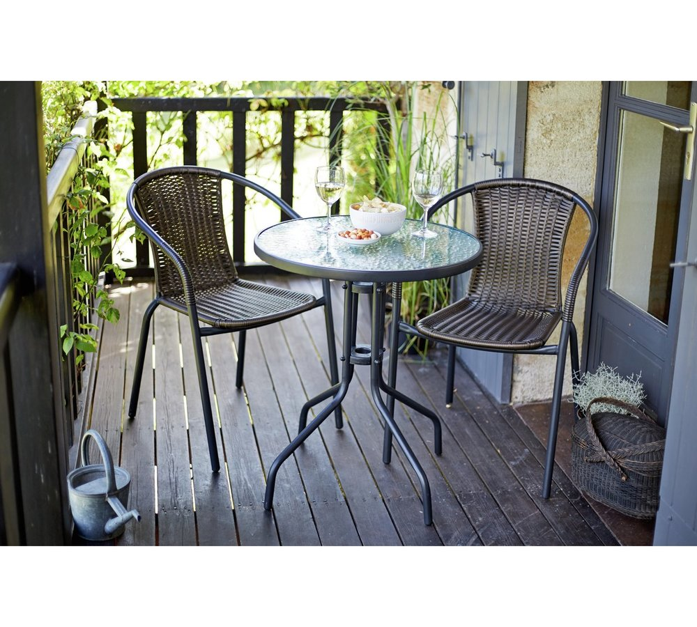 HOME collection 2 Seater Bistro Set at Argos for £39.99
