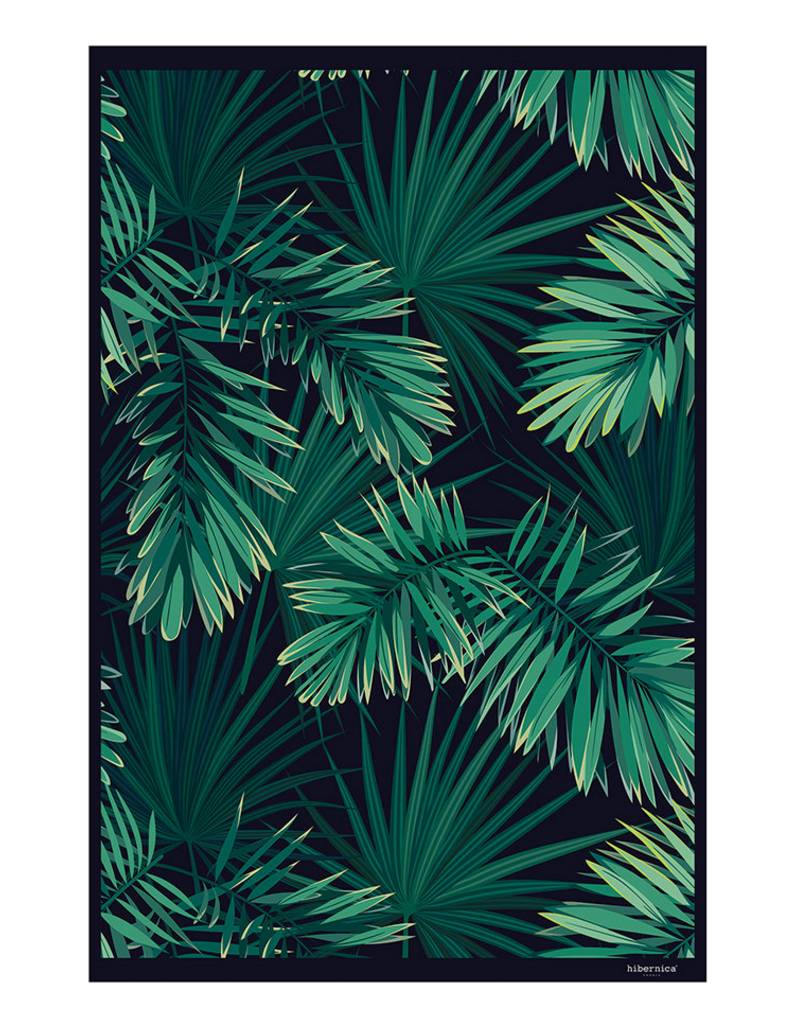 Jungle Vinyl Floor Mat