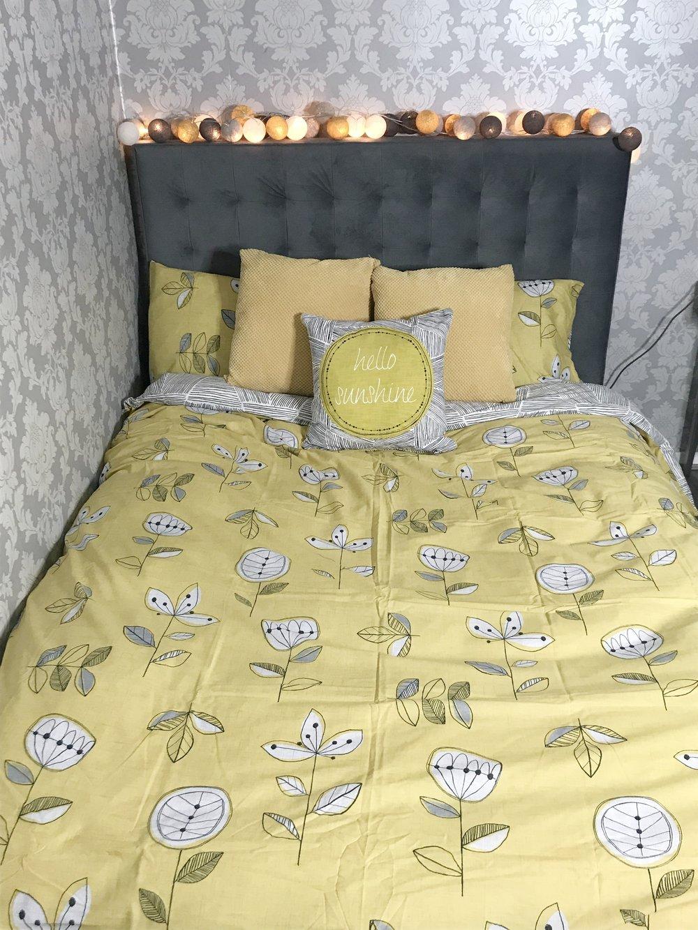 Yellow Elements Bedding via Dunelm