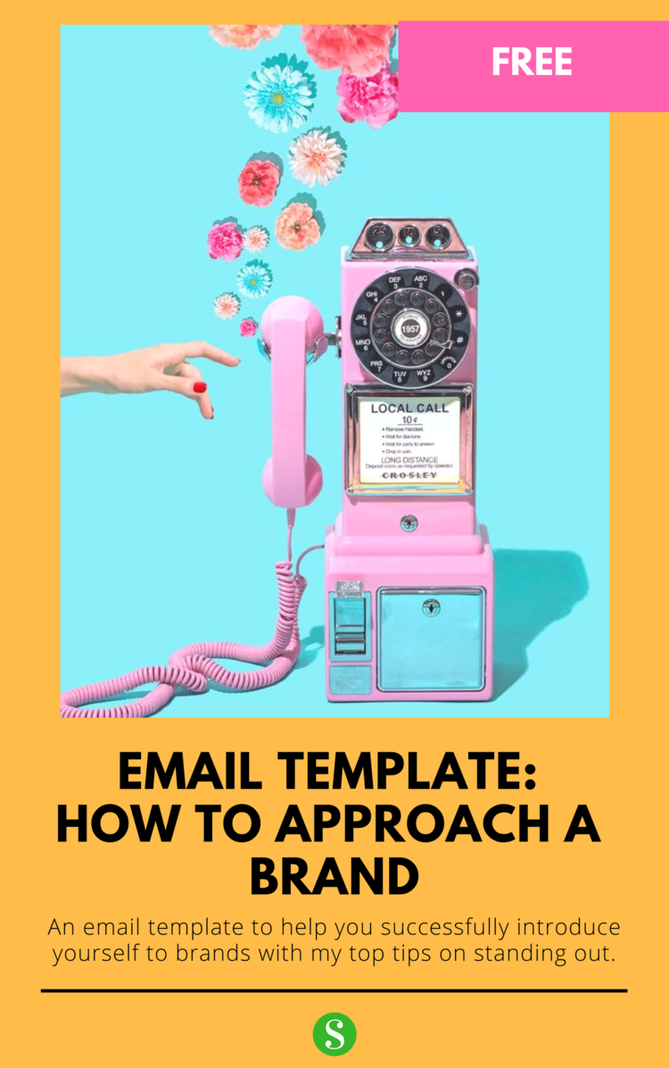 How To Introduce Yourself To Brands With Email Template Saphron London