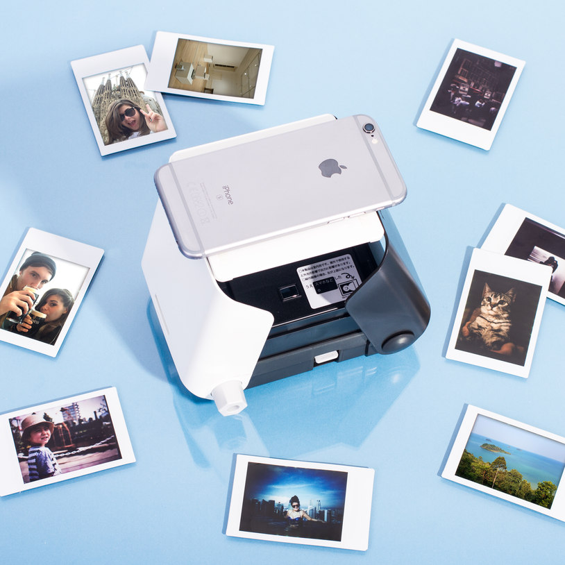 All you need is your phone and some  Mini FujiFilm Instax film.  No WiFi, app, batteries or cables needed!