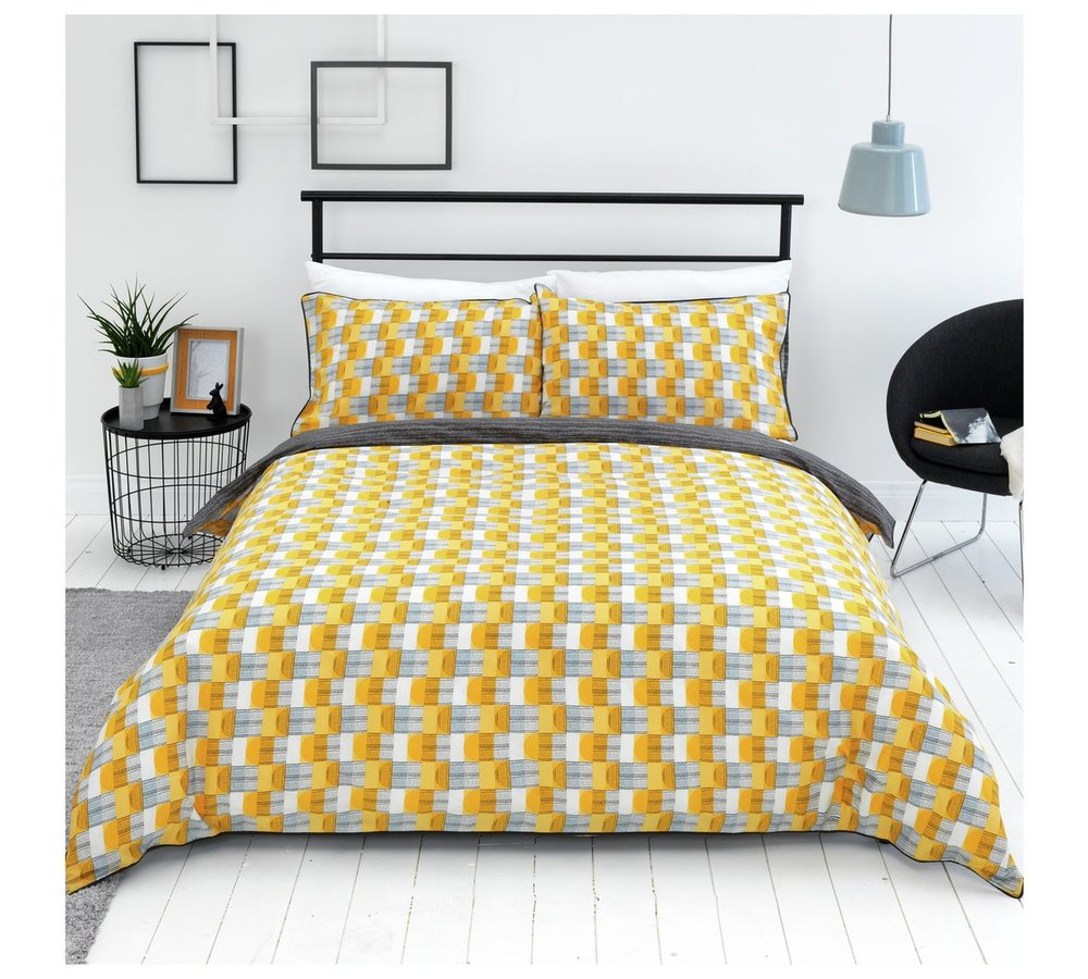 Sainsbury's Home Helsinki Geo Bedding Set - Double | £14*
