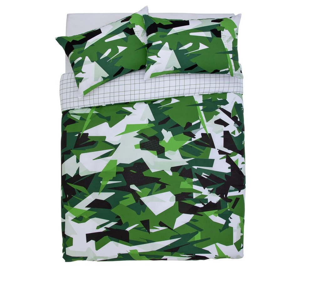 Argos Home Camouflage Bedding Set - Double | £13.99