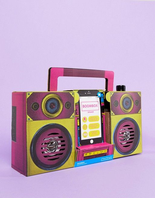 Mustard Battery Powered Boombox Speaker | £25