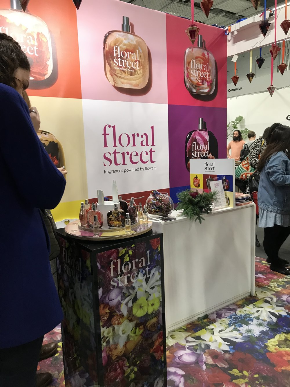 Floral Streets stand was incredible.