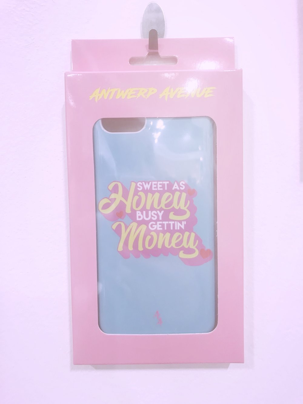 This bad boy phone case is from the Money Moves collection