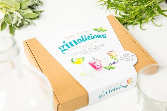 Gin Botanical Cocktail Garden Kit