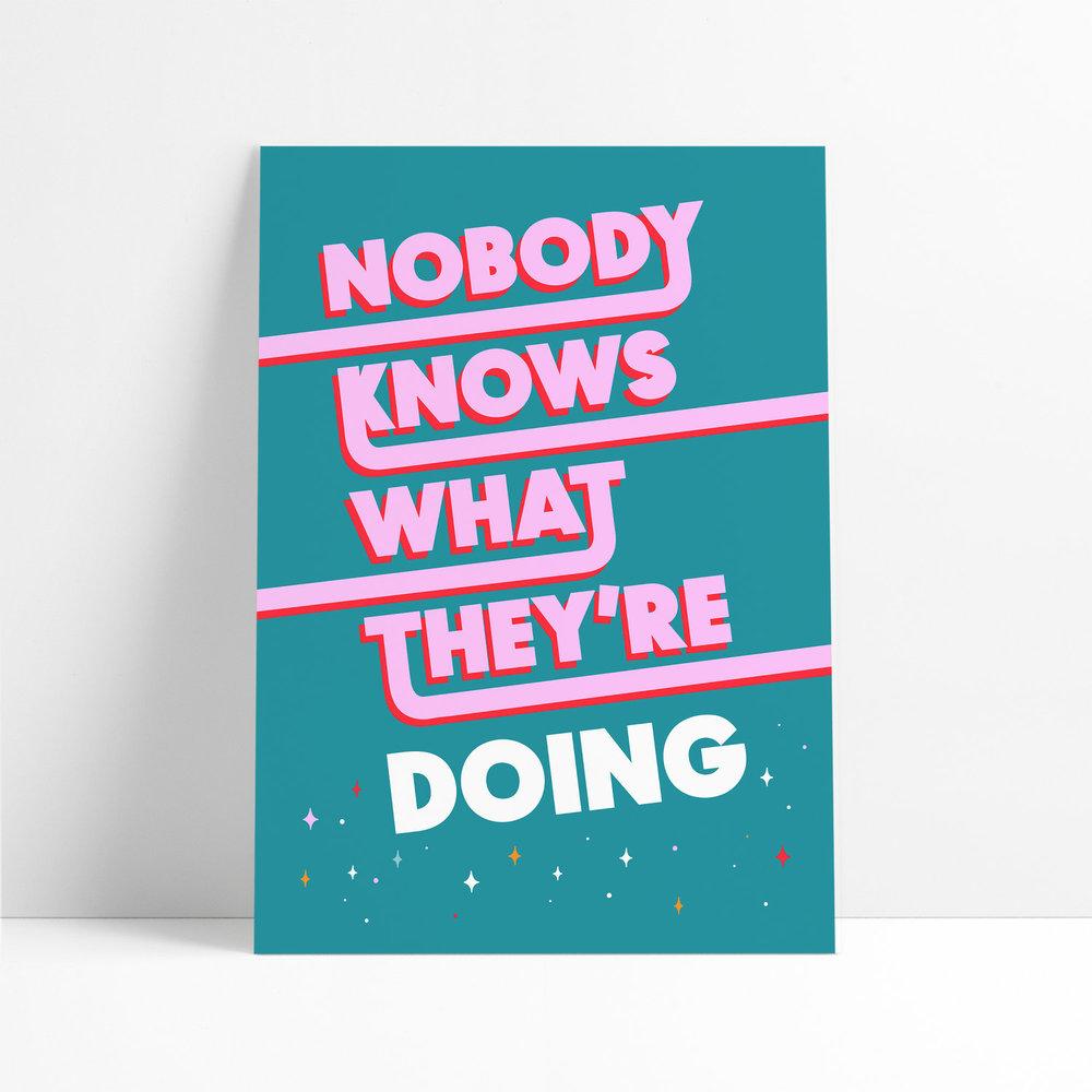 Nobody Knows by Kerry Joy