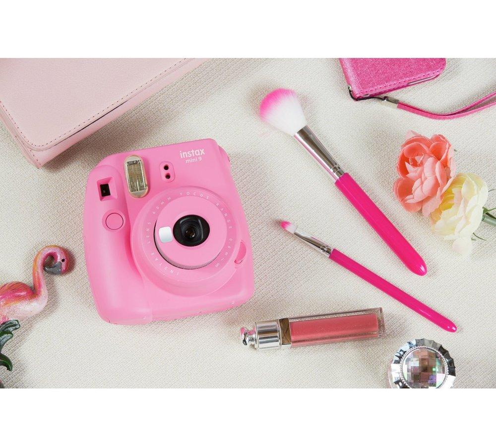 Flamingo Pink Instax Camera