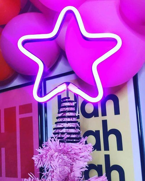 Ahhh, the neon tree topper. Loved so much that it's now sitting on the bookcase in my office! This beauty by  Typo  made my 2018 Xmas decor extra special. | £12.99 |