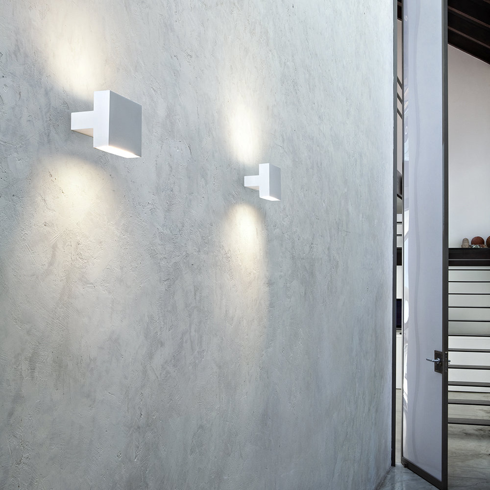 *SPLURGE*- TIGHT WALL LIGHT - FLOS The perfect feature wall lighting designed by Piero Lissoni. Highlight a special place in your home with these super sleek twin lights which have both uplighters and downlighters.£220