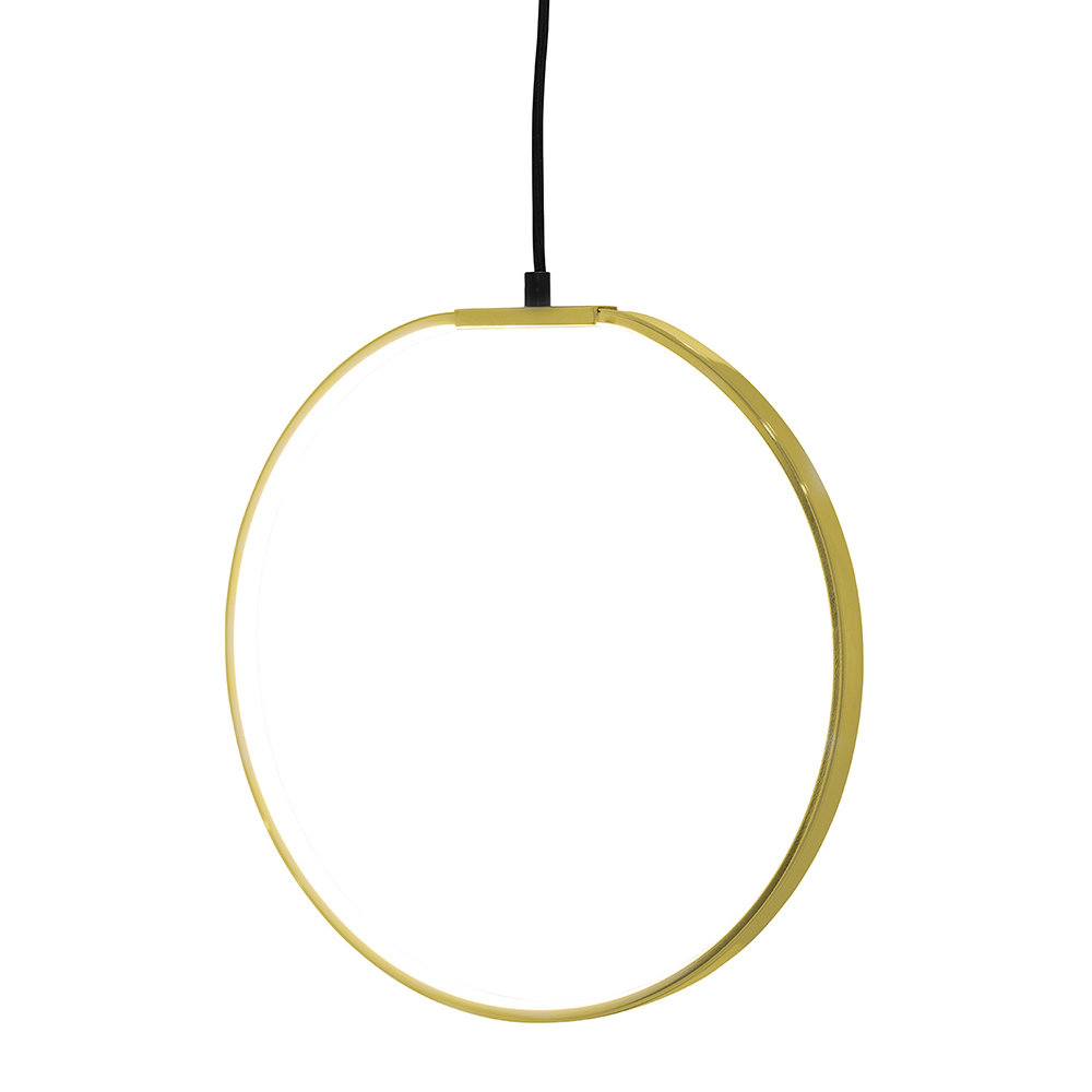 PENDANT LAMP- GOLD - BLOOMINGVILLEI am lowkey obsessed with this one because it makes me want to swing from it every time I see it. Now £64.50 reduced from £129.