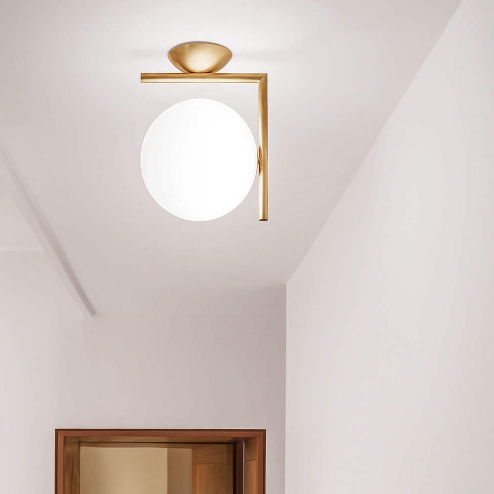 SPLURGE* - IC Wall/Ceiling Light - FLOSAdd instant glamour to your home with this gorgeous dome ceiling light designed by Michael Anastassiades £315