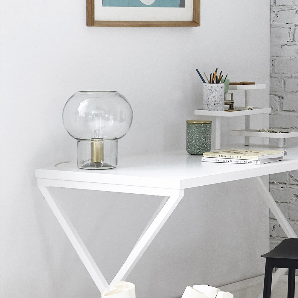 MUSH TABLE LAMP - HOUSE DOCTORLove transparent glass lamps like this one from House Doctor. £82