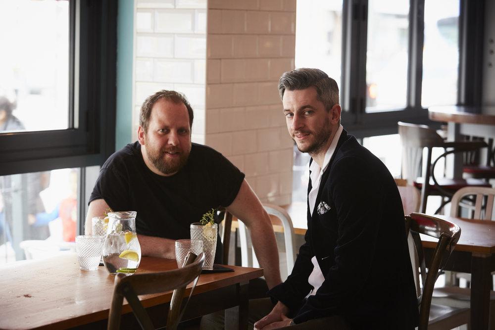 Didsbury Gin Founders:  Mark Smallwood & Liam Manton