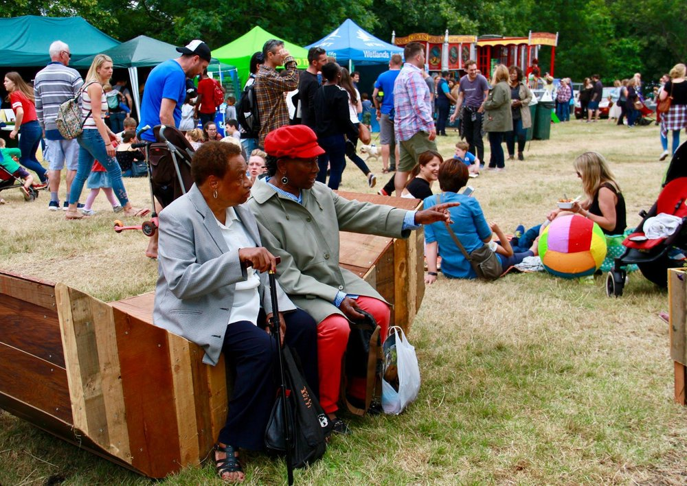Copy of Copy of Copy of Copy of Copy of Later the Watermelon was taken to the Brockwell Park Country Show in South London (image by of Ian Rogers).