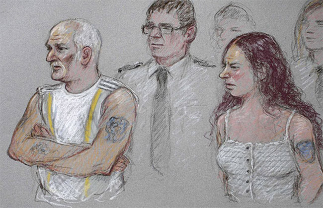 Mick Philpott in court