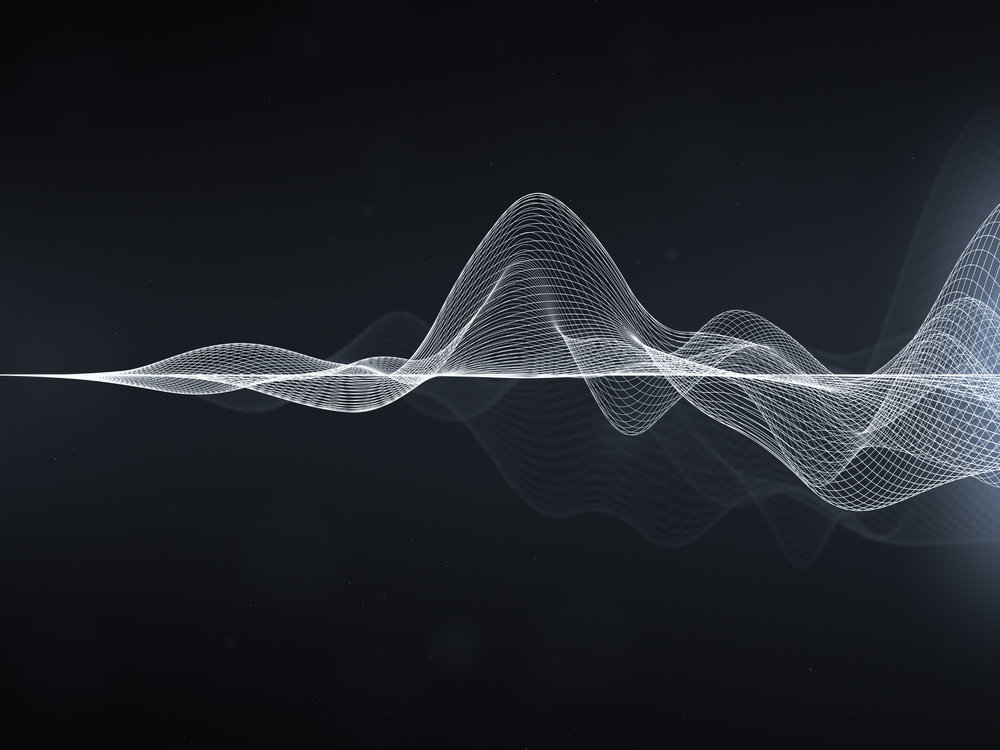 Sound wave - image accompanying blog post about hyperacusis