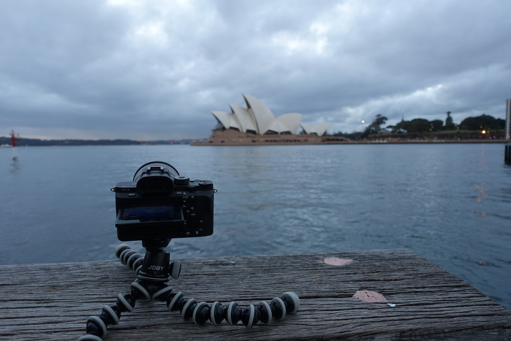Time-lapse of Sydney Harbour bridge