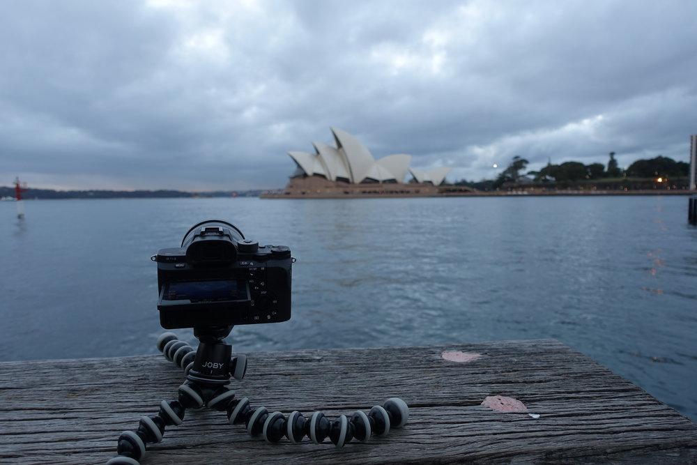 Time-lapse of the Harbour bridge