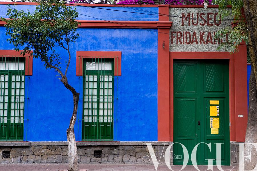 MUSEO FRIDA KAHLO,  LA CASA AZUL, MEXICO