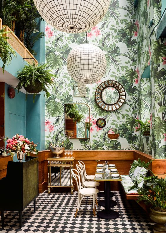 Leo's Oyster Bar. Image via:  Architectural Digest