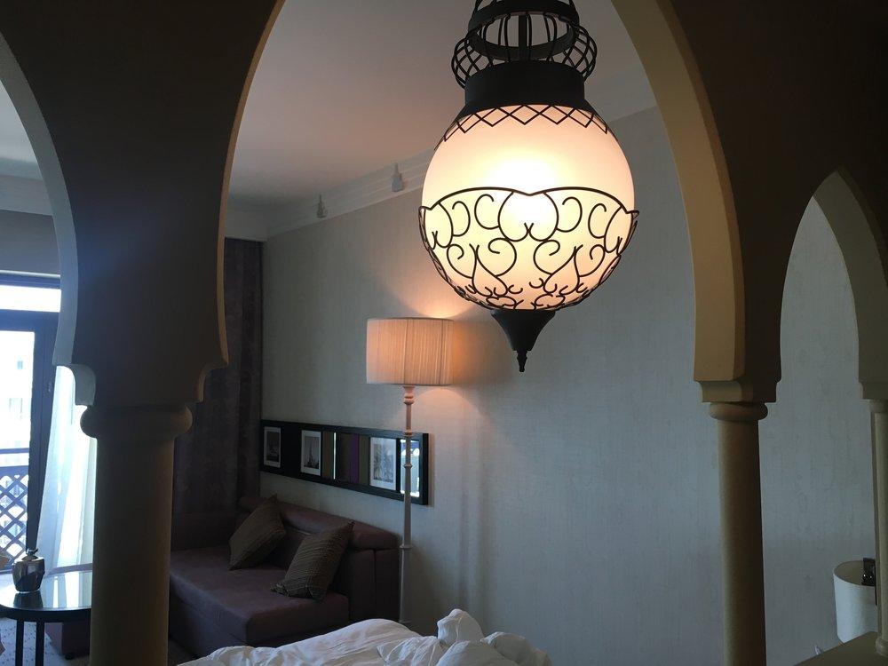 Love the understated Arabian design