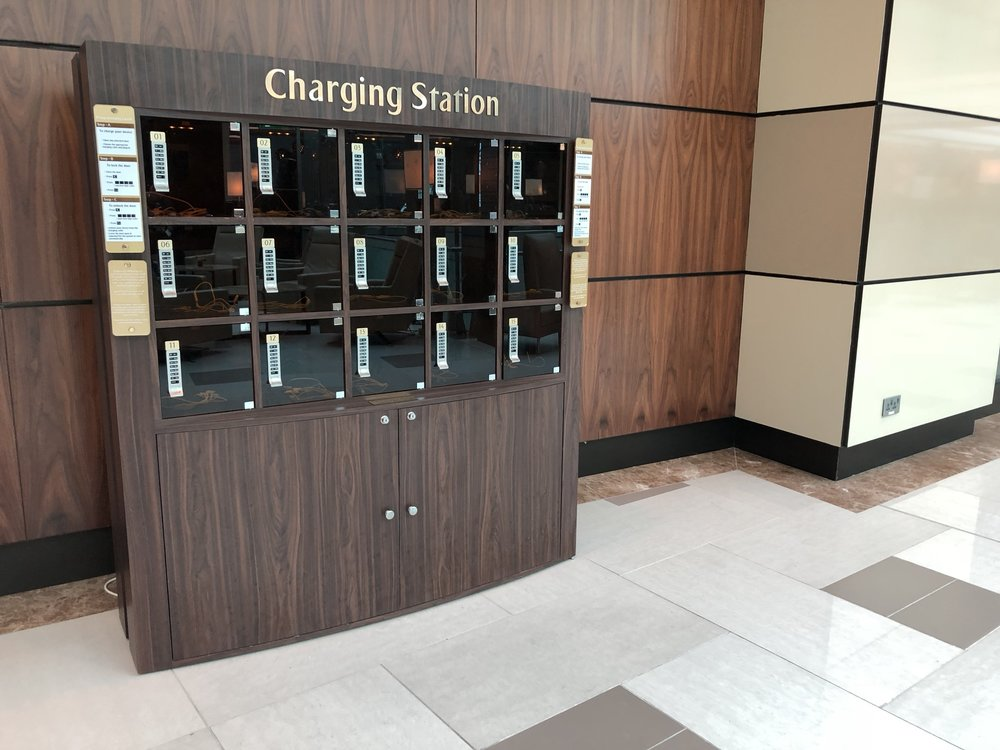…old school charging stations