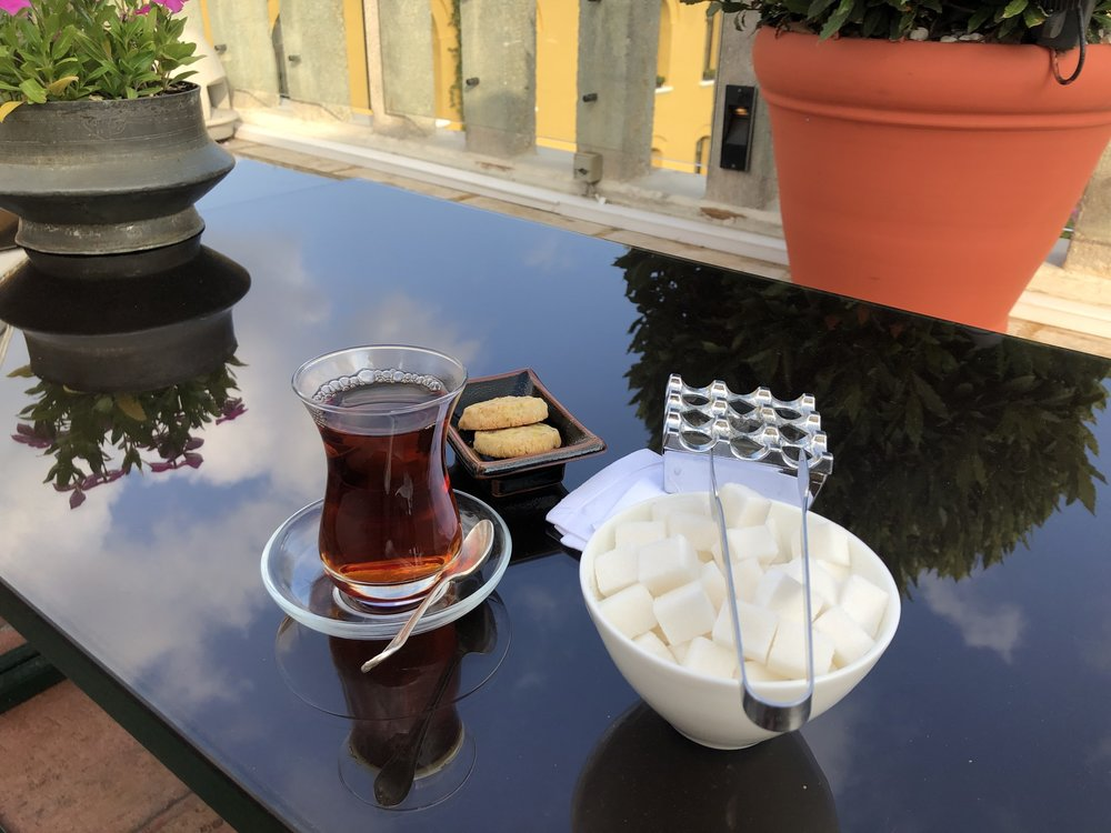Turkish tea…