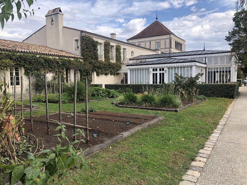 On of the vegetable gardens for the restaurant